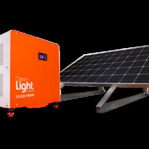 Generador Solar SolBox 3000w Cleanlight