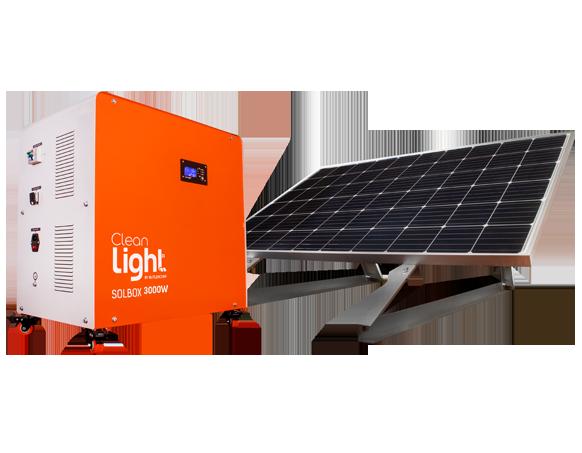 SolBox 3000W Generador Solar Móvil