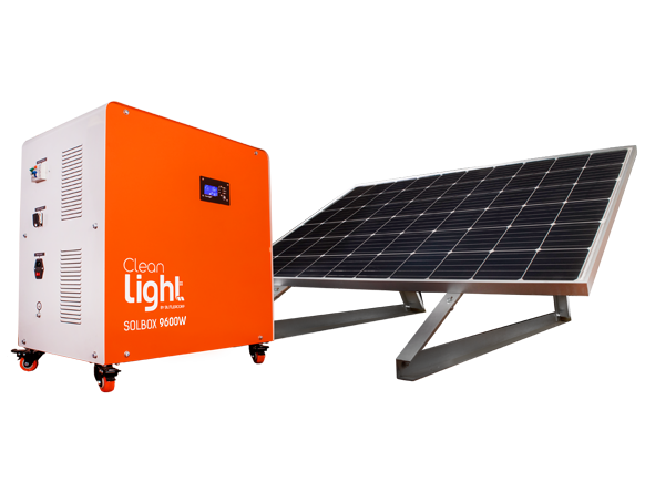SolBox 9600W Generador Solar Móvil