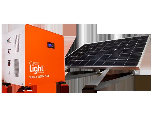 Generador Solar SolBox 9600w Plus Cleanlight