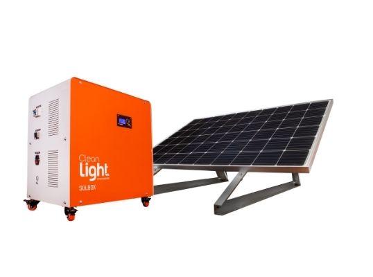 Solbox: Generador Solar Móvil